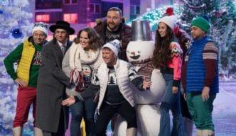 Новогоднее меню СТС: «Ёлка, дети, два стола», яркий лук для Снегурочки и эксклюзивный «Форт Боярд»